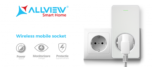 Priza inteligenta Allview Smart Home